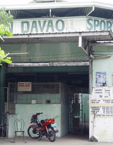 You won't find soccer, basketball, or athletics at Davao Sports Stadium