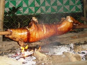 Lechon baboy (hog roast)