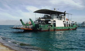 The trusty Davao~Samal car ferry
