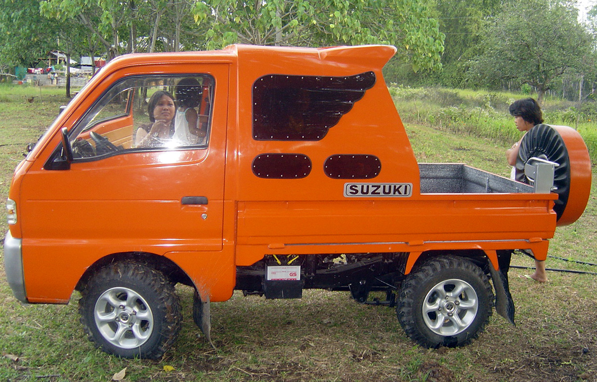 Bahay Kubo Design Suzuki Multicab The Ginger Winger Samal Bahay Kubo