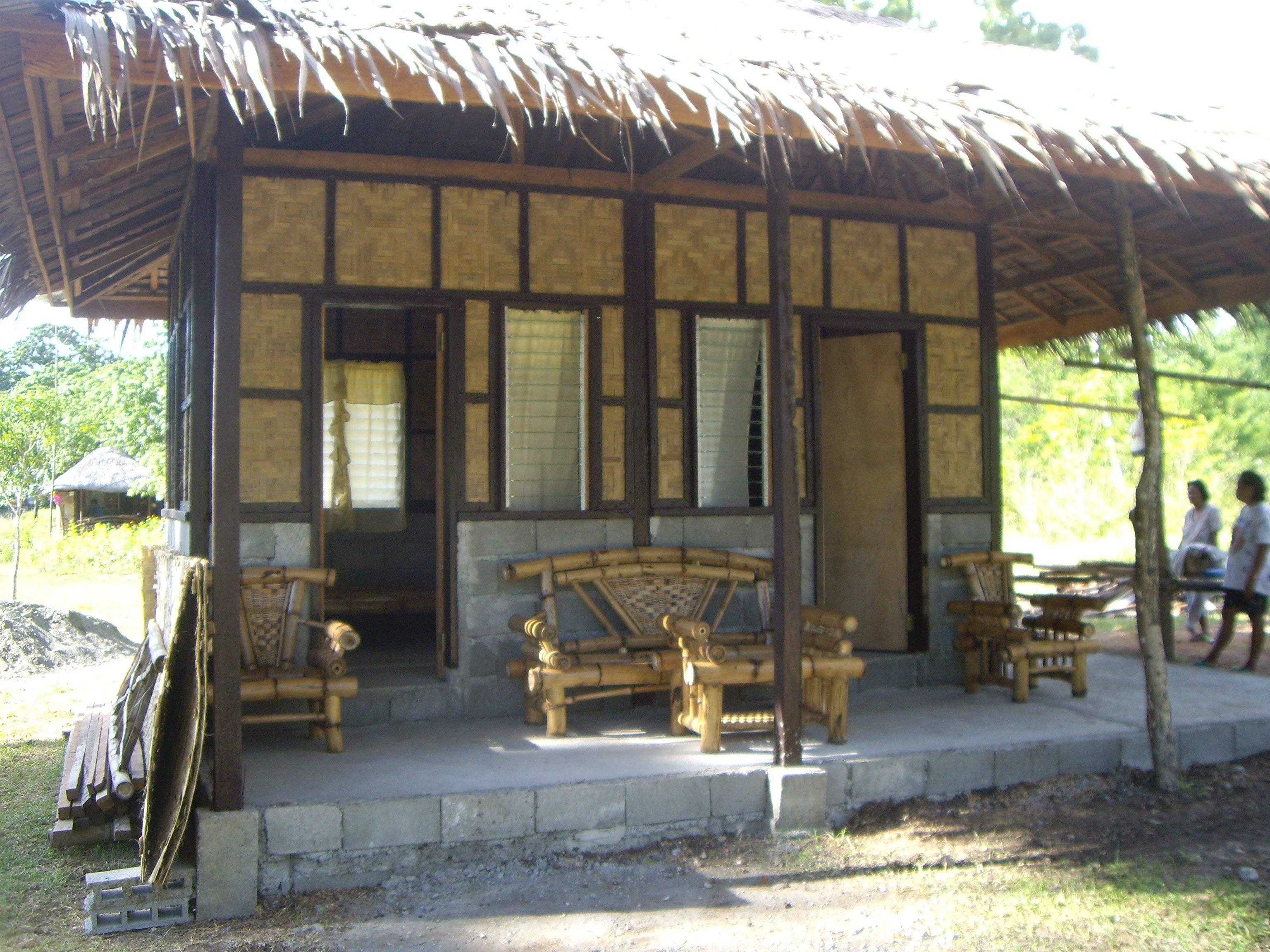 Bahay kubos arrive samal bahay kubo for Small house design native