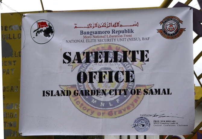 The MNLF satellite office, Brgy Limao