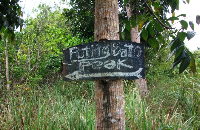Puting Batu peak this way